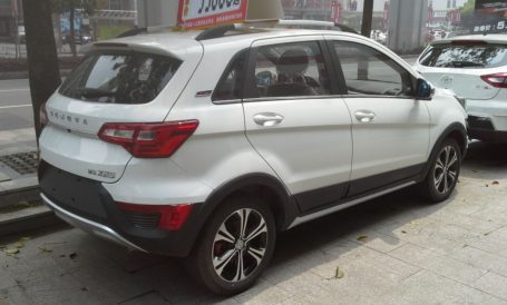 Sazgar's BAIC X25 Crossover Spotted in Lahore 4