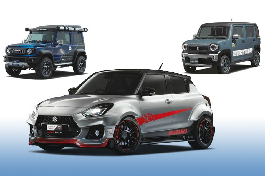Suzuki to Showcase Swift Sport Katana Edition at Tokyo Auto Salon 7