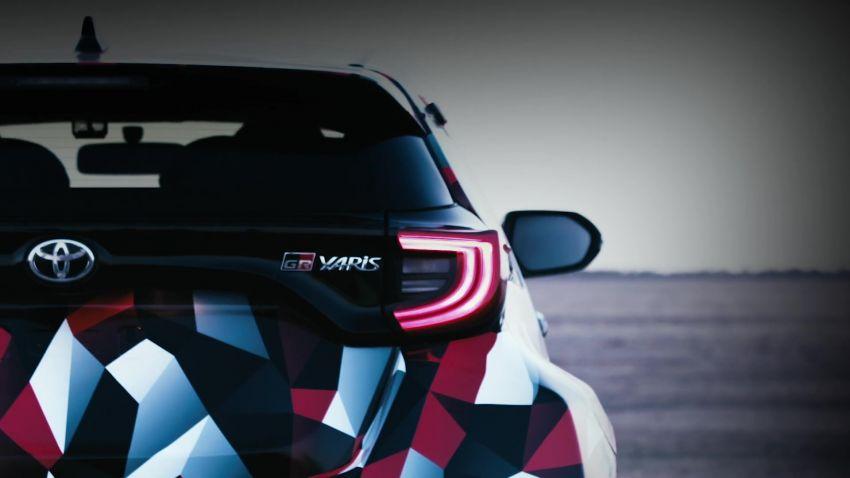 Toyota Teases the 2020 Yaris GR4 AWD 2