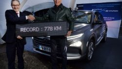 Hyundai Nexo FCV Sets Longest Distance Record 8