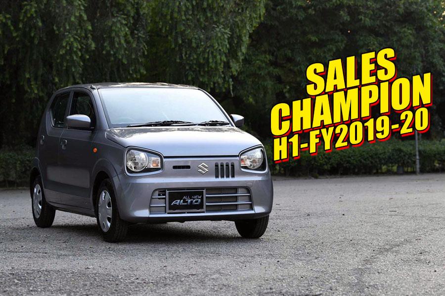 Suzuki Alto- Sales Champion of H1-FY2019-20 10