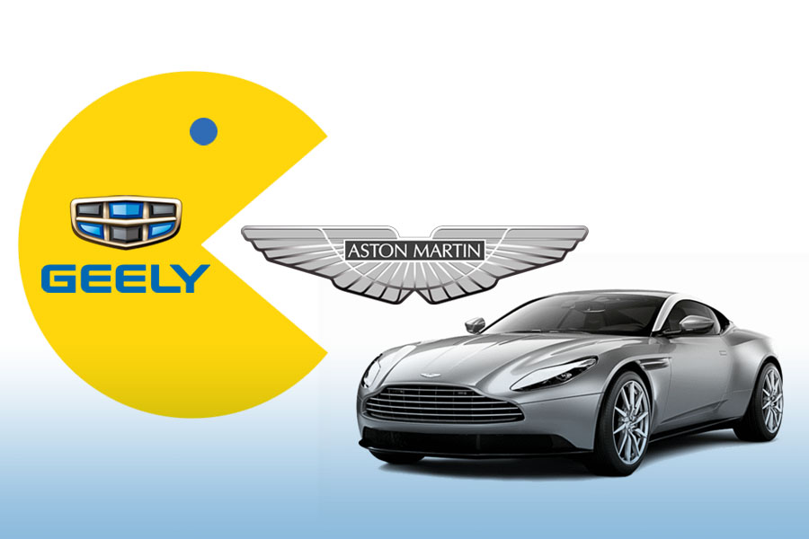 Geely in Talks to Acquire Stake in Aston Martin 7