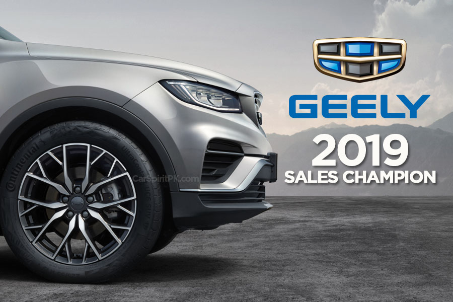 Geely Retain Sales Champion Title in China for Third Consecutive Year 9