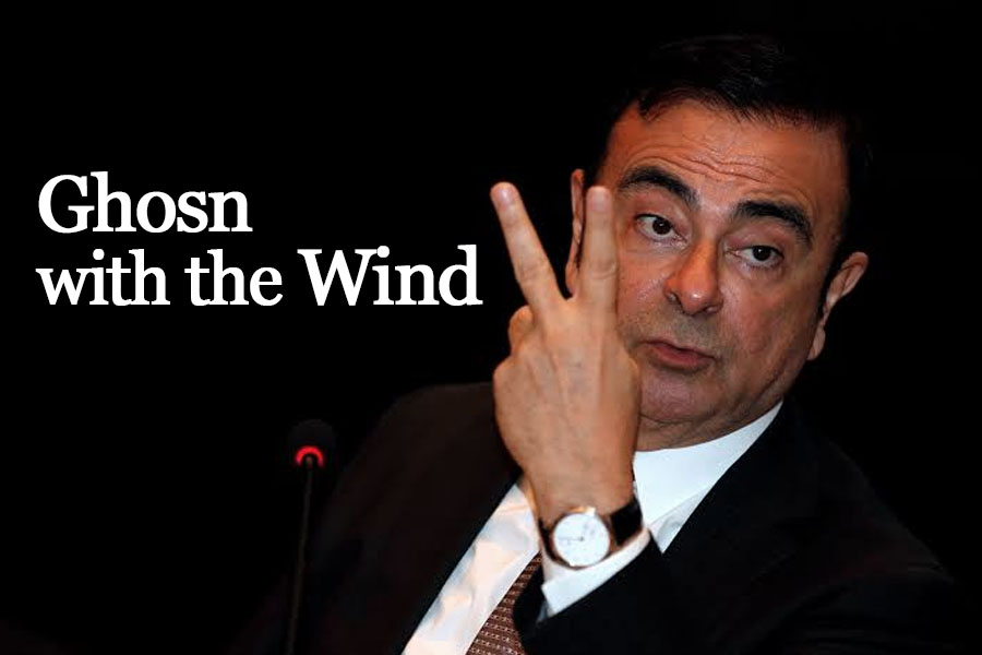 Ghosn with the Wind... How Former Nissan Chairman Escaped from Japan 4