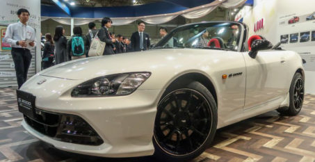 Honda S2000 20th Anniversary Prototype and EK9 Civic Cyber Night Japan Cruiser at 2020 Tokyo Auto Salon 1