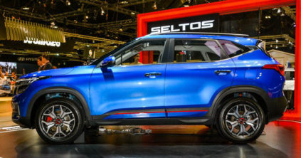 Kia Seltos Debuts at Singapore Motor Show 2