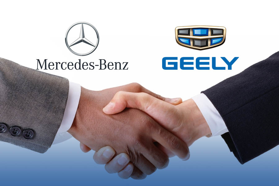 Mercedes-Benz and Geely Have Established Global Joint Venture 1