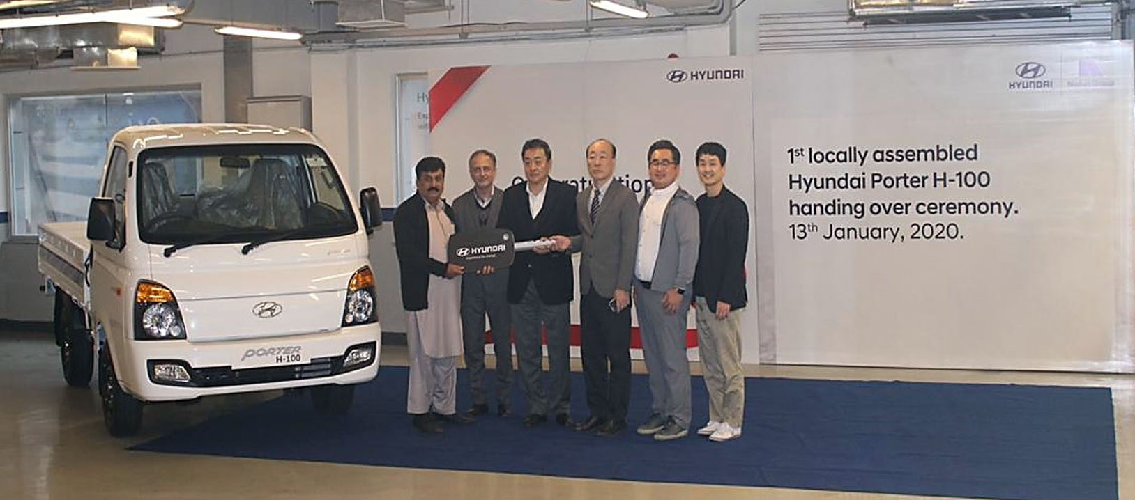 First Local Assembled Hyundai Porter Delivered to Customer 3