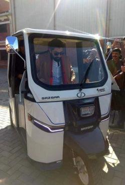 Sazgar Unveils Pakistan's First Electric 3-Wheeler 3