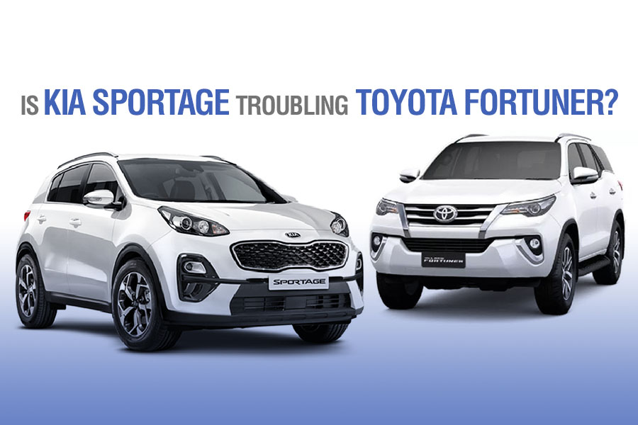 Is Kia Sportage Troubling Toyota Fortuner? 5