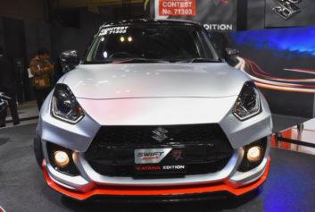 Suzuki Displays Swift Sport Katana Edition at Tokyo Auto Salon 2