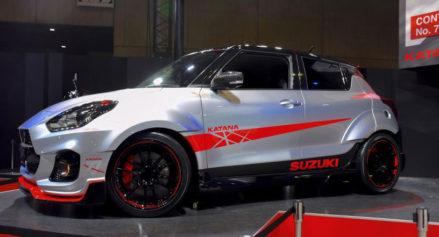Suzuki Displays Swift Sport Katana Edition at Tokyo Auto Salon 3