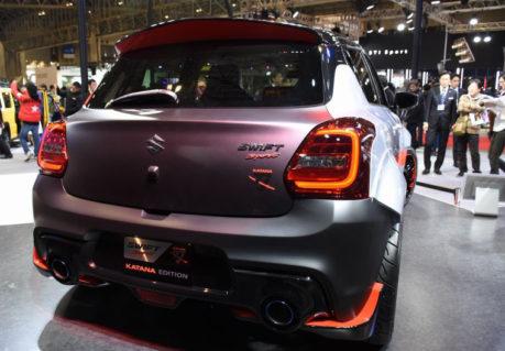 Suzuki Displays Swift Sport Katana Edition at Tokyo Auto Salon 5