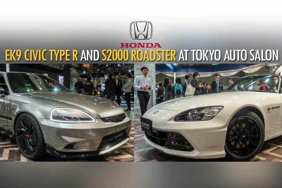 Honda S2000 20th Anniversary Prototype and EK9 Civic Cyber Night Japan Cruiser at 2020 Tokyo Auto Salon 2