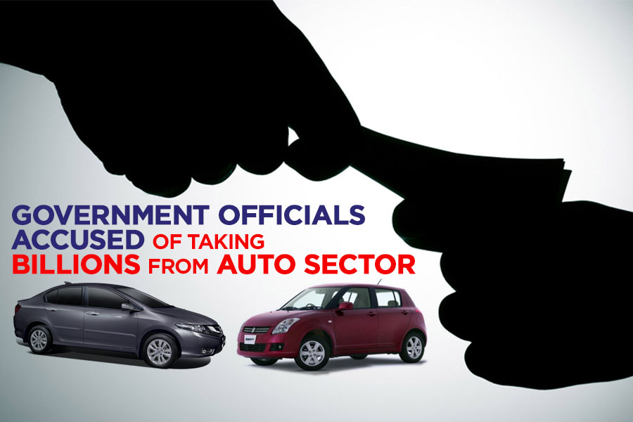 Government Officials Accused of Taking Billions from Auto Sector 7
