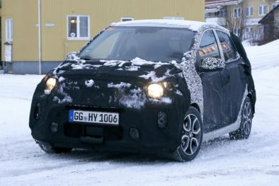 2020 Kia Picanto Facelift Spotted Testing 5