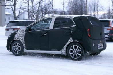 2020 Kia Picanto Facelift Spotted Testing 6