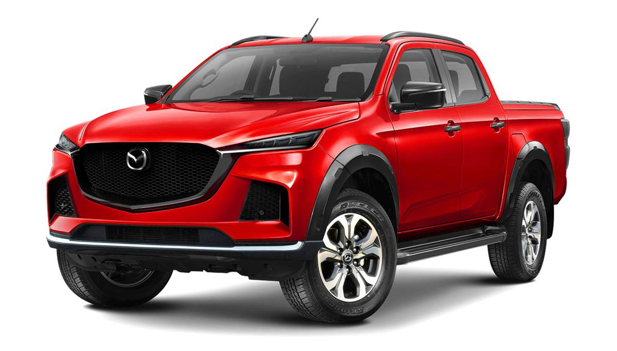 All New Isuzu D-MAX will Spawn the Next Generation Mazda-BT 50 4