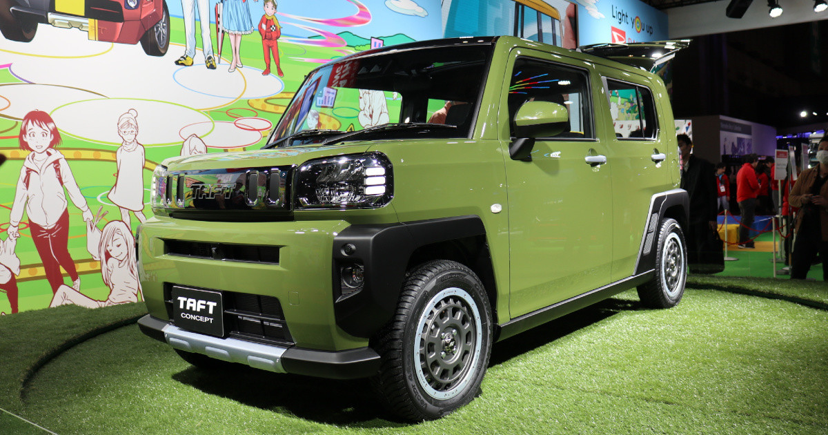 Daihatsu TAFT Concept at Tokyo Auto Salon 6