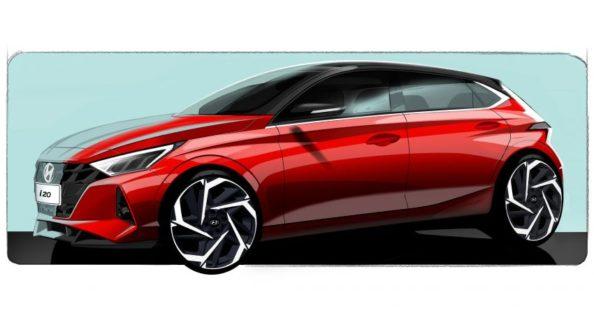 Next Generation Hyundai i20 Teased Ahead of Geneva Debut 1