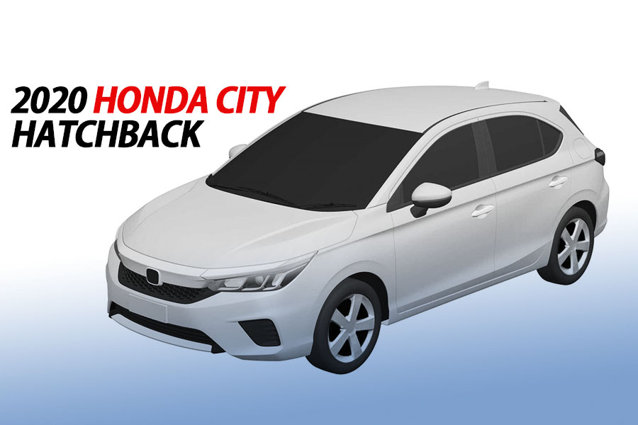 2020 Honda City to Also Get a Hatchback Version 9