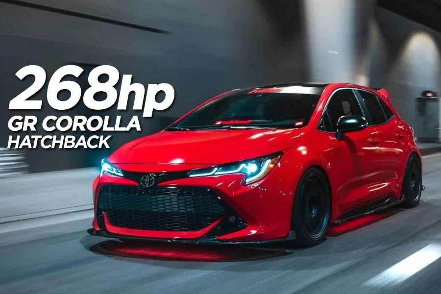 Toyota to Introduce 268hp GR Corolla Hatchback 5