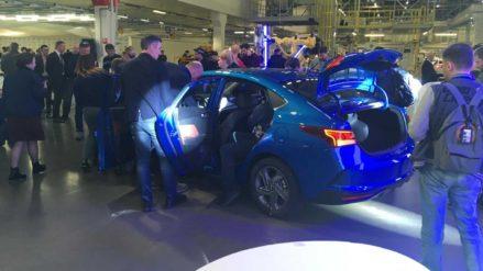 2020 Hyundai Verna (Solaris) Facelift Unveiled in Russia 3