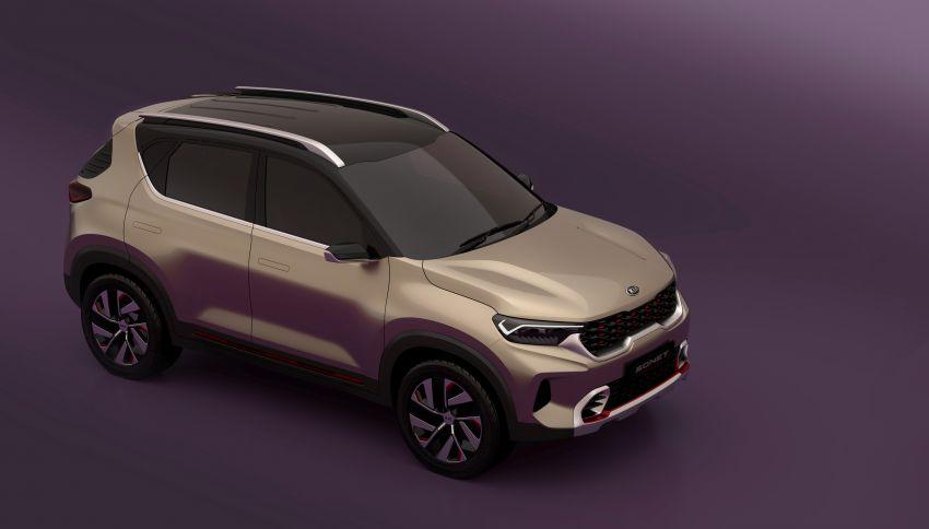 Kia Sonet Concept Debuts at Auto Expo 2020 7