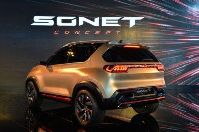 Kia Sonet Concept Debuts at Auto Expo 2020 3