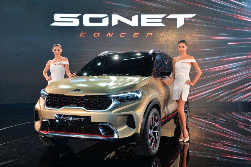 Kia Sonet Concept Debuts at Auto Expo 2020 10