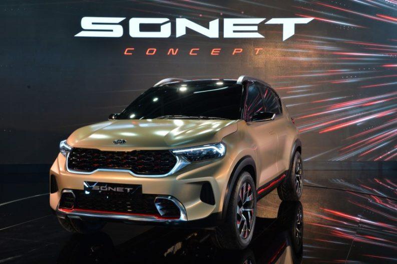 Kia Sonet Concept Debuts at Auto Expo 2020 1