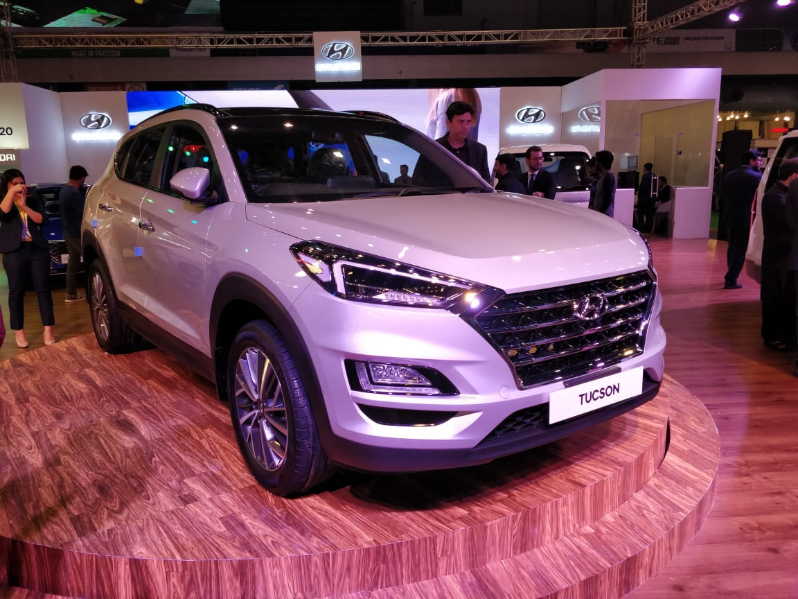 Hyundai-Nishat Showcases Tucson and Elantra at PAPS 2020 1
