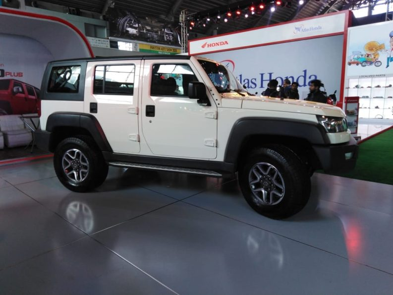Sazgar Displays BAIC Vehicles at PAPS 2020 12