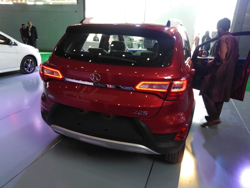 Sazgar All Set to Launch BAIC X25 Crossover 2