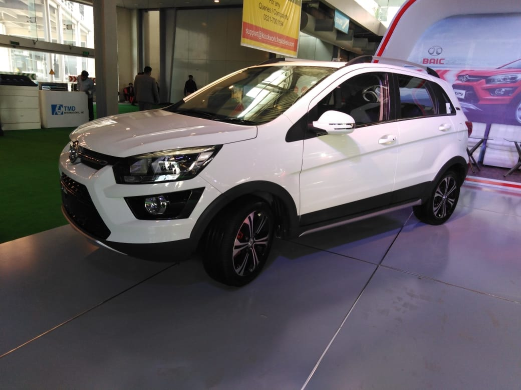 Sazgar All Set to Launch BAIC X25 Crossover 1