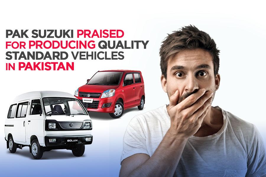 Pak Suzuki Praised for Producing Quality Vehicles in Pakistan 3