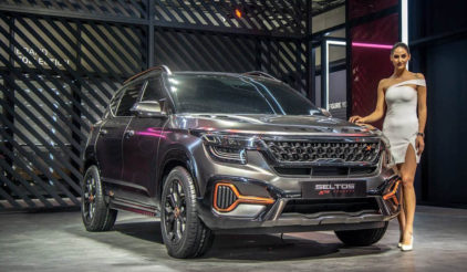 Kia Seltos X-Line Concept Showcased at 2020 Auto Expo 6
