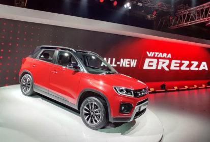 Maruti Launches 2020 Vitara Brezza Facelift Priced from INR 7.34 Lac 8