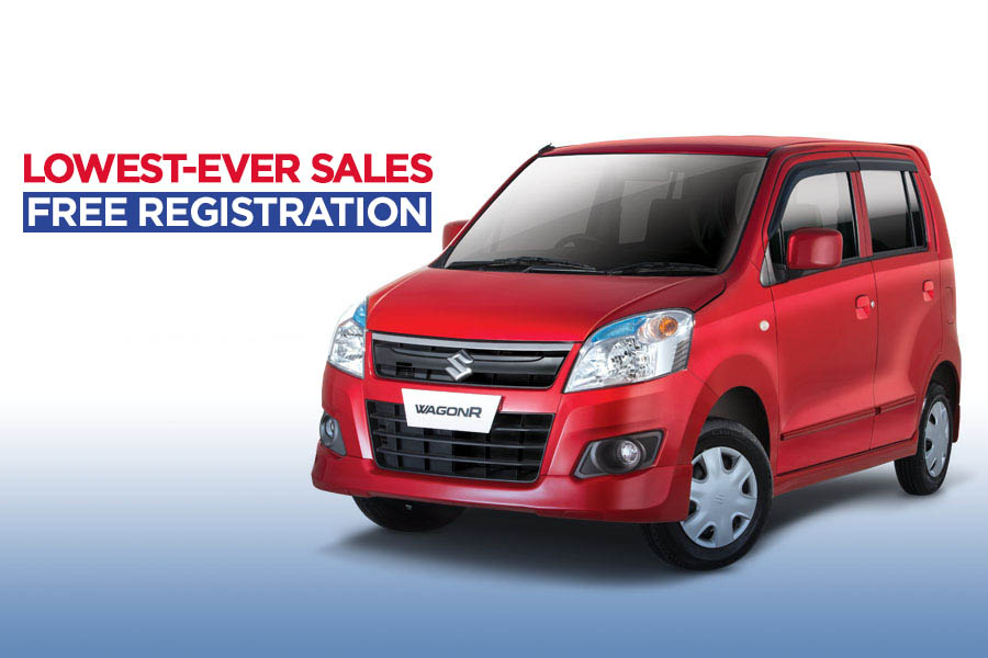 Pak Suzuki WagonR- Lowest Ever Sales & Free Registration 5
