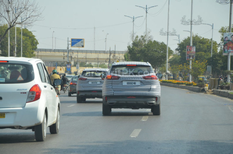 Proton X70 Spotted Testing in Karachi 1
