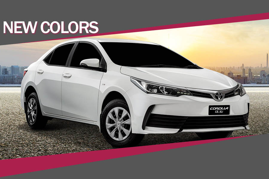 IMC Introduces New Colors with 1.3L Corolla XLi 1