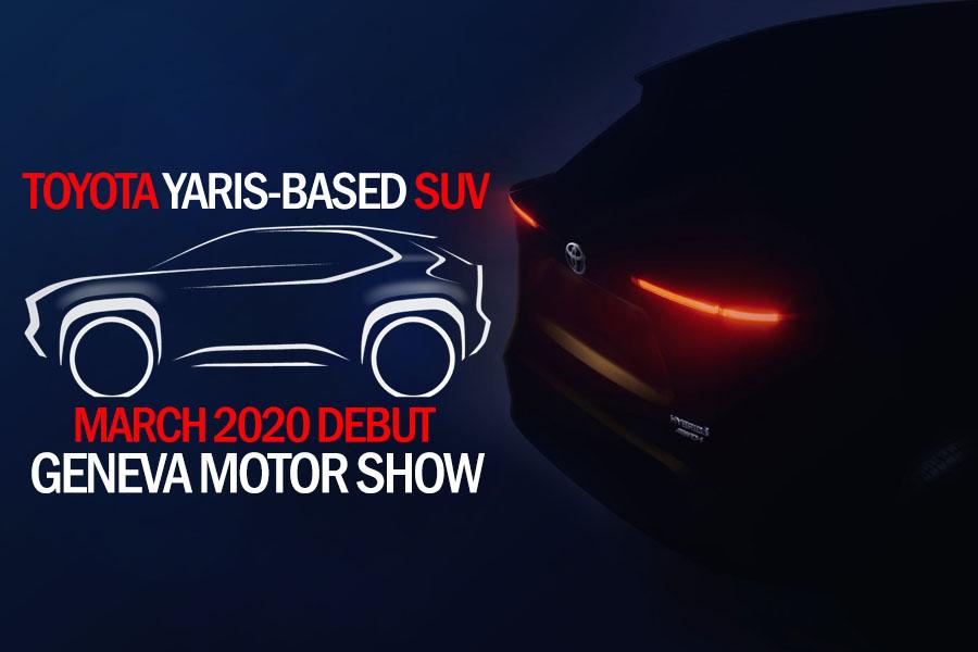 Toyota Yaris-based SUV to Debut at Geneva Motor Show 3