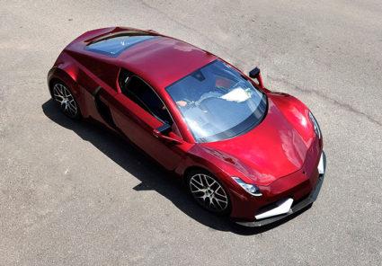Sri Lankan Electric Sports Car Vega EVX to Debut at Geneva 5