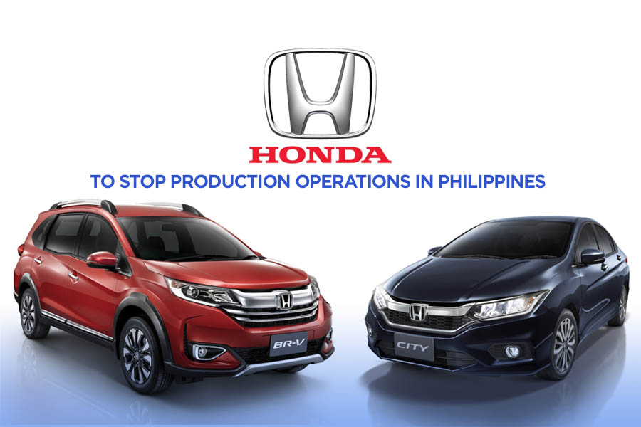 Honda to End Automobile Production in Philippines 2