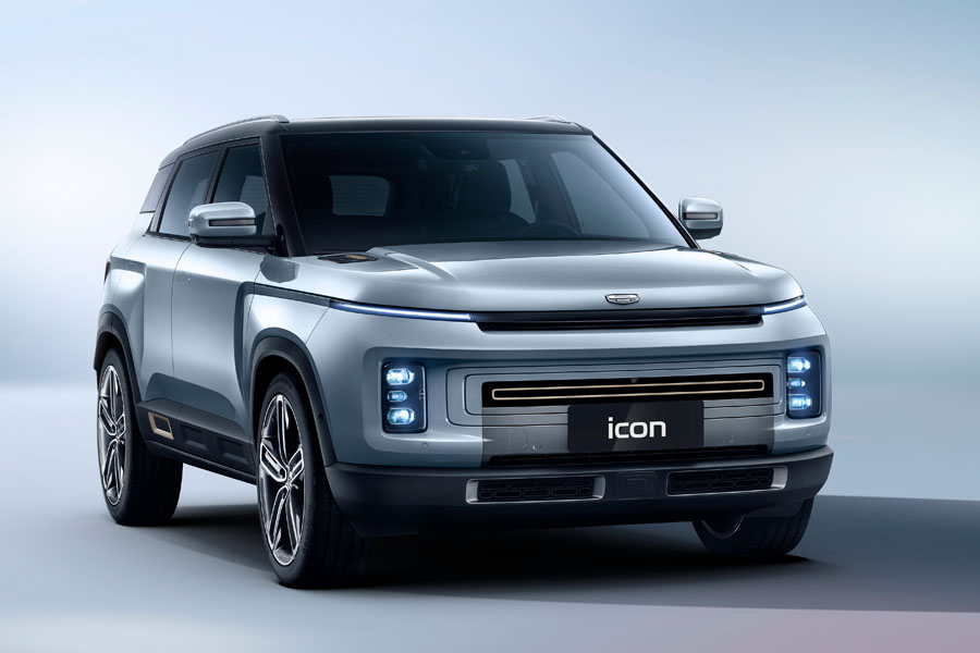Geely's Stunning Icon SUV Launched in China 1