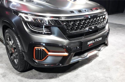 Kia Seltos X-Line Concept Showcased at 2020 Auto Expo 2