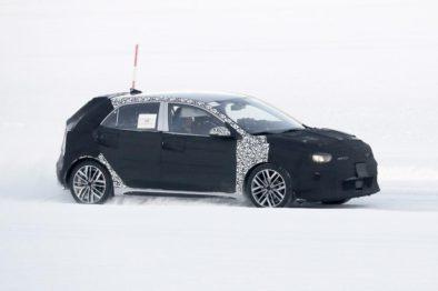 2020 KIA Rio Facelift Spotted Testing 3