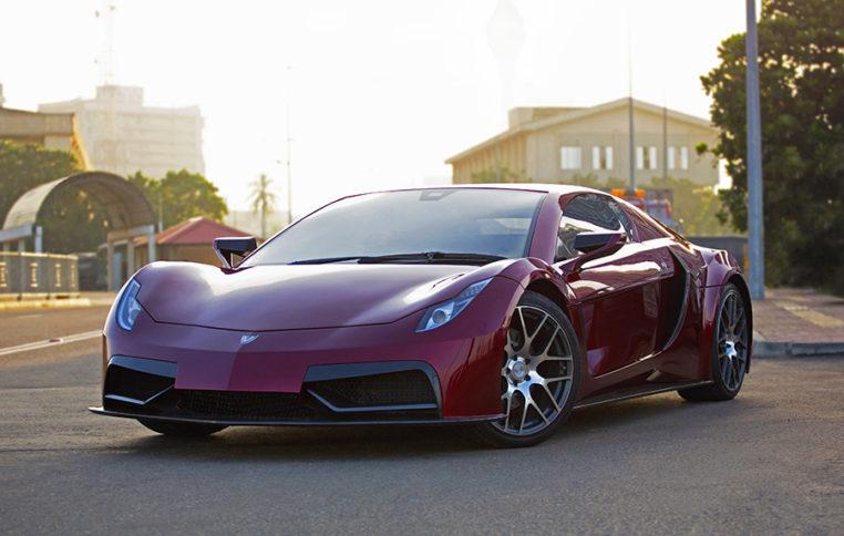 Sri Lankan Electric Sports Car Vega EVX to Debut at Geneva 3