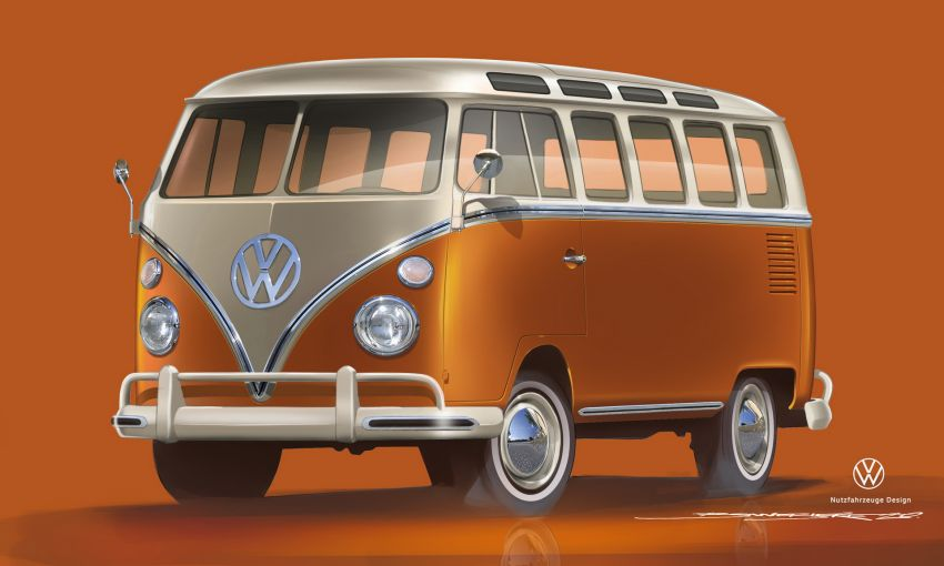 Volkswagen's Nostalgic Type 2 Van to Relive as E-Bulli 5