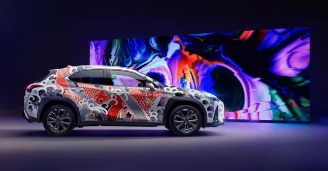 Lexus Unveils World's First Tattooed Car 11